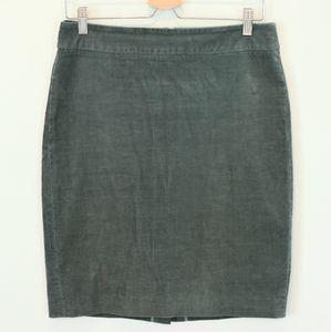J.Crew Corduroy Pencil Skirt